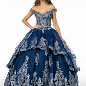 Off-Shoulder Ballgown Sweetheart Dress GSGL1819